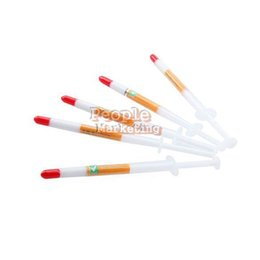 Wholesale Thermal Grease Paste Compound Cpu - 5X 1G Thermal Grease Heatsink Compound Paste CPU VGA N P4PM