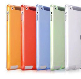 Wholesale Cover Wholesale China - Super Thin Case for Apple iPad 2 3 4 Transparent Soft TPU Silicon Perfect Fitting Back Clear Cover For Ipad 2 Ipad Air Ipad Mini