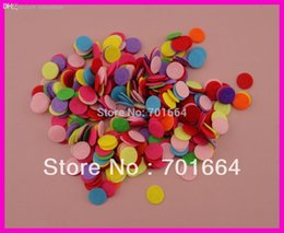"Wholesale Brooch Pad - Wholesale-1000PCS 1.5cm 3 5"" colorful round felt pads for flower and brooches' back,15mm round felt patches,Bargain for Bulk"
