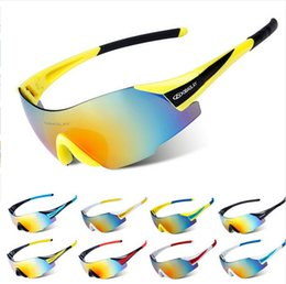 Wholesale Carbon Cycle Frames - 2017 Men Cycling Glasses UV400 Outdoor Sports Windproof Eyewear Mountain Bike Bicycle Sunglasses Ultra Light Non Frame Eyeglass