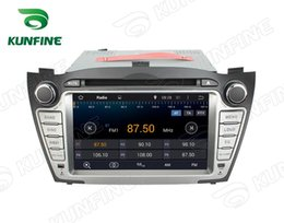 Wholesale Hyundai Dvd 3g - Quad Core 1024*600 HD Screen Android 5.1 Car DVD GPS Navigation Player for Hyundai Tucson   IX35 2009-2012 Radio 3G Wifi