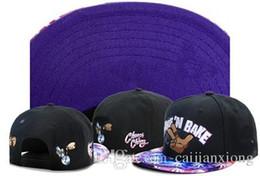 Wholesale Snapback Caps Weezy - 9 styles Snapback Hats creme de la gieme Men Hip Hop Baseball Caps brooklyn weezy kush biggie Sun Cap