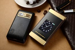 Wholesale Dual Time Gold Black - mobile cell phone, no smart cell phone, long standby time, dual sim card ,dual standby , fashion flip phone ,three colors