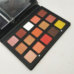 Wholesale Nose Up Beauty - Hot new Nata Sunset set eyeshadow 15 color eyeshadow panel Cosmetic plate nose Shadow Beauty make-up series