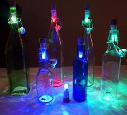 Wholesale Bottle Cork Usb - New Party Decor Cork Shaped Rechargeable USB LED Night Light Wine Bottle Lamps Night Lights DHL Free