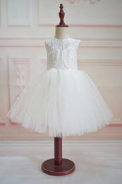 Wholesale Simple Flower Girl Dresses - Simple Backless Flower Girl Dress