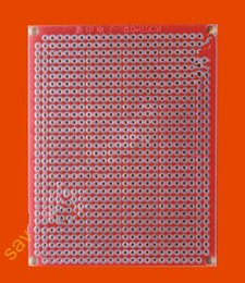 Wholesale Panel Circuit - 6.5X8CM Single Side Prototype PCB Panel Universal Circuit Board Glass Fiber