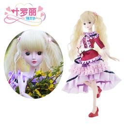 Wholesale Blonde Lolita - Night Lolita 1 3 BJD Doll 60cm 19 jointed dolls Mossa Blonde Beauty ( Free Eyes Hair Makeup Clothes Shoes ) DA001-47