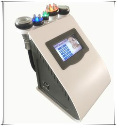 Wholesale Cavitation Machines - FREE SHIPPING 5 IN 1 Ultrasonic Cavitation Radio Frequency Vacuum RF Lipo Laser Slimming Machine Weight Loss
