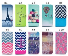 Wholesale Iphone 5c Cartoon - Cartoon Owl Flower Dandelion Tower flip Wallet Leather Pouch stand Case For iphone4S 5S 5C 6 6Splus Samsung S3 S4 S5 S6 S6 edge note3 note4