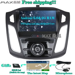 Wholesale Android Din Car Stereo - 2G+16G Android 6.0 Car DVD Player for Ford Focus 3 Focus 2012 2013 2014 2015 with Radio BT swc GPS map WIFI