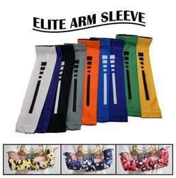 Wholesale Football Gear Men - Professional Sports Protective Gear Anti-slip Compression UV Arm Sleeves 131 Styles Camo Flag Pattern Football Softball Cycling Cuffs