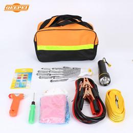 Wholesale Auto Maintenance - Wholesale-QEEPEI auto 9 in 1 Vehicle emergency kit car maintenance tools car-styling