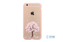 Wholesale Cherry Phones - Hot sale Free shipping wholesale Cherry blossoms iphone 6 6p iPhone Case mobile phone shell Free shipping.