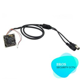 Wholesale Ccd Dsp Color - 650TVL SONY Effio DSP CCD Color 2.8mm Lens Camera Multilingual OSD