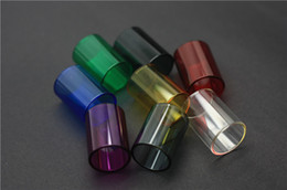 Wholesale Kanger Replacement Glass - 2015 NEWEST Replacement pyrex colorful glass tube for kanger subtank atomizer subtank mini glass tube subtank nano glass TUBE..