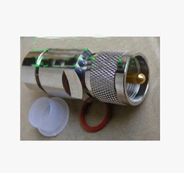 Wholesale Head Talkie - Feed Pipe Head To 1 2 Feed M Male Tube Joint Connector Walkie Talkie Accessories