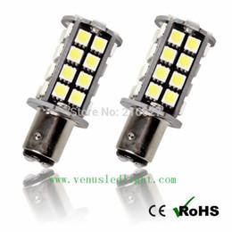Wholesale Reverse Leds - brake led light White No Error 1156 P21W S25 5050 40 Leds Canbus LED Reverse Marker Light
