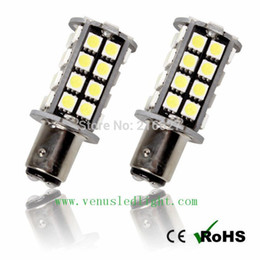 Wholesale Leds Canbus - brake led light White No Error 1156 P21W S25 5050 40 Leds Canbus LED Reverse Marker Light