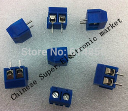 Wholesale Terminal Block Pin Connector 5mm - Wholesale-20pcs 2 Pin Screw Terminal Block Connector 5mm Pitch B