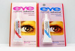 Wholesale Glue Water - eyelash glue false eyelash adhesives Anti allergy Good viscosity gum water Waterproof Fast Drying False Eyelashes Lady Makeup Tool