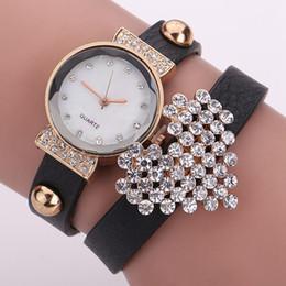 Wholesale Wrist Watch Love - Hot Sale Women Bracelet Watch Love Diamond Wrist Watches Women Dress Watches Women Fashion Luxury Quartz Gift Watch