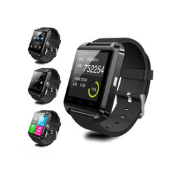 Wholesale Price Waterproof Android Phone - U8 smart watches for i Phone Android Phone WristWatch for Smartphones wholesale electronics free shipping dhl low price