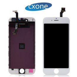 Wholesale repair lcd panel - Replacement Lcd Digitizer For iPhone 6 Lcd Black White 4.7 Display Repair Touch Screen Digitizer Assembly No Dead Pixel Free DHL