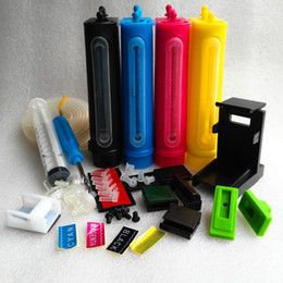 Wholesale Ciss System For Epson - Universal Ciss Kit for Epson HP Canon Brother Lexmark printer ink supply system Professional accessories 4*100ML ink tank top quality