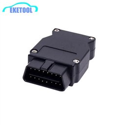 Wholesale bmw usb obd cable - 50PCS Lot DHL Fast For BMW ENET Ethernet to OBD2 16Pin Connector Works For BMW ESYS Coding F-Series OBD Diagnostic Plug