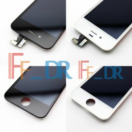Wholesale Cheap Iphone Lcd Assembly - cheap lcd good quality lcd for Iphone 4s Screen Digitizer Assembly On Sale Free Shipping lcd for Iphone 4s