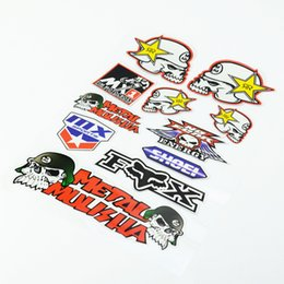 Wholesale Waterproof Pvc Stickers - New Motorcycle Sticker ktm Rossi 46 VR46 The Doctor Helmet Waterproof Decal for Yamah Skate Snowboard Motocross Luggage Laptop
