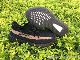 Wholesale Le Run - KAN E WEST BOOST 350 V2 FROZEN ELLOW CORE BLACK COPPER B 1605 LIFEST LE SHOES (ZEBRA) NEW IN BOX