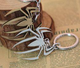 Wholesale Amazing Spiderman 11 - Marvel Super Hero Spiderman Keychains The Avengers The Amazing Spider-Man Metal Keychain Key Ring Pendant Key Chains