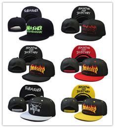 Wholesale Brim Snapbacks - Good Quality Snapback caps Cap punk metal Flame hip hop baseball caps brim retro duck tongue caps for men