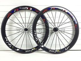 Wholesale Carbon Clincher 23 - 2016 superteam 23 width road carbon wheels 700C*50mm bicycle wheels UD 3k rims finished in matte or glossy