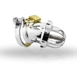 Jaula de uretra online-Dispositivo de castidad masculina con catéter de uretra, jaula de gallo, anillo de pene, cinturón de castidad, bloqueo de virginidad, anillo de gallo, A199