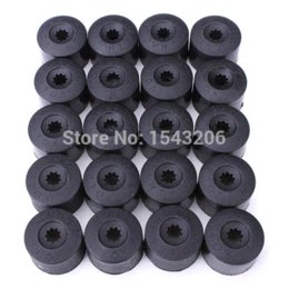 Wholesale Audi Golf Cap - 20pcs Wheel Nut Bolt Cover Cap 17mm Engraved For VW Golf MK4 Passat For Audi Beetle Hub