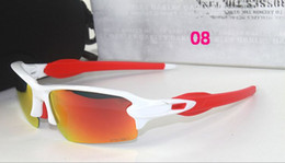 Wholesale Aluminum Alloy Bike Frames - 9271 Cycling Bike Sports Sunglasses for Bicycle Outdoor Eyewears Goggle Brand Designer FLAK 2.0 Half Frame Sunglasses for Men and Women