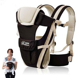 Wholesale Horizontal Baby Carrier - 2-30 Months Breathable Multifunctional Front Facing Baby Carrier Infant Comfortable Sling Backpack Pouch Wrap Baby Kangaroo