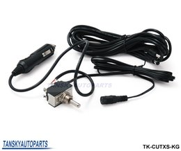 Wholesale Electric Exhaust Dumps - TANSKY - Toggle Switch with 12ft Wiring Harness For Electric Exhaust Muffler Valve Cutout System Dump TK-CUTXS-KG