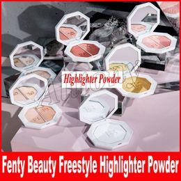 Wholesale Fire Crystals - Fenty Beauty By Rihanna Killawatt Freestyle Highlighter Palette 6 Colors TROPHY WIFE Metal Moon LIGHTNING DUST FIRE CRYSTAL DHL