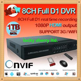 Wholesale Dvr Channel 3g Wifi - CIA-New arrived! cctv dvr 8 channel 960H digital video recorder system hdmi 1080p NVR HVR for security ip camera usb 3g wifi