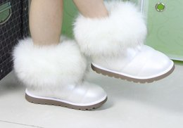 Wholesale Girls Shoes Boot - New! girls baby cotton shoes! Winter boots infant! Snow boots! Flowers cotton boots!