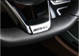 Wholesale Car Decoration Trim - For Mercedes Benz E Class W213 E200 E300 2016 2017 Car Interior Steering Wheel Molding Decoration Trim Cover Sticker