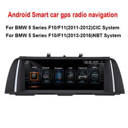 """mercedes radio navigation Rebajas 10,25 """"Estéreo con audio y radio para automóvil 8.1 para BMW serie 5 F10 / F11 (2013-2016) Navegación GPS MP5 Bluetooth WiFi Mirrorlink"""