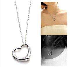 Wholesale Cheap Designer Jewelry For Women - 2014 New Brand Women Necklace Designer Heart Pendant Necklace For Women Cheap Fashion Jewelry Women