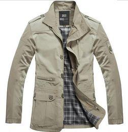 Wholesale Cheap Winter Coats Sale - Wholesale- YP1031M Cheap wholesale 2016 new Autumn Winter Hot sale men's fashionable casual warm jacket male bisic Dust coats