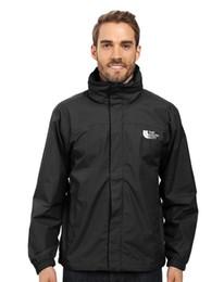Wholesale Hooded Jacket Cotton - 2017 Hot Sale Spring Autumn new Men's Outdoor Sport jacket Men Fashion hooded jacket Men Windbreaker Zipper Waterproof Coats free shipping