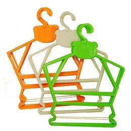 Wholesale Kids Pants Clothes Hangers - Simplicity Little Bear Plastic jumpsuits hangers,Hanger for Baby,Children, Kid Hanger